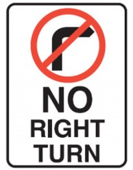 no-right-turn-450x900-reflective-aluminium