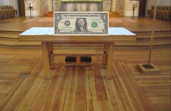 altar and dollar
